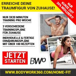 Bodywork360 Home Fit - Fit ohne Geräte - Erfahrungen Review 2